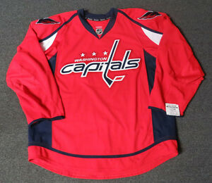6dc716d4d Image is loading New-Washington-Capitals-Red-Authentic-Team-Issued-Reebok-