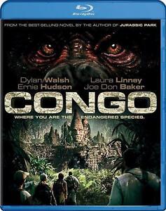 Blu-Ray-CONGO-Dylan-Walsh-Laura-Linney-Region-free-New-sealed
