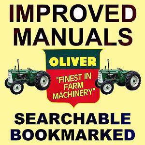 oliver 550 tractores manual de servicio taller las piezas 6 rh ebay com Oliver 880 Mist Green Oliver 880 Pulling Tractor