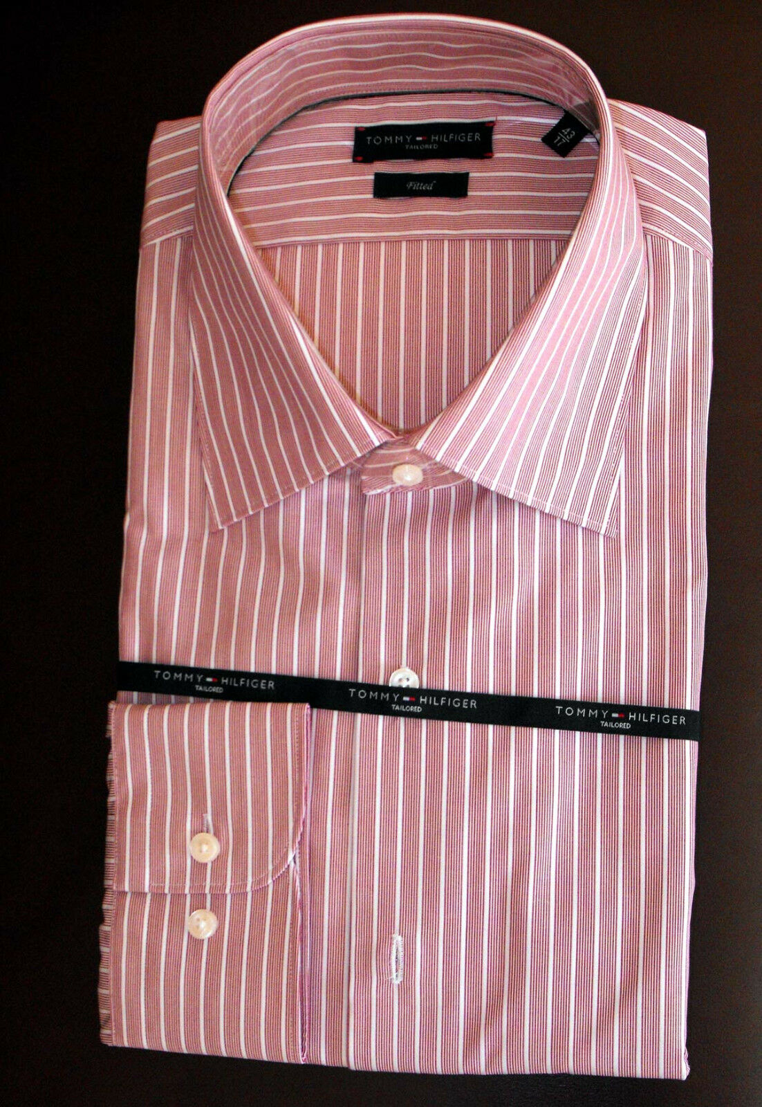 TOMMY HILFIGER TAILOROT FITTED SHIRT 17 / 43  BNWT