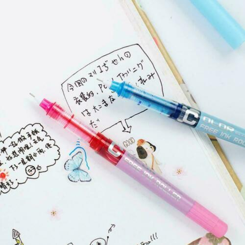 7x Color Gel Pen Refill Adult Coloring Book Ink Pens-Drawing New Painting-C T4J3