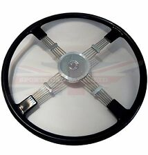 New Quality Reproduction of Brooklands Steering Wheel for MG TD TF Black