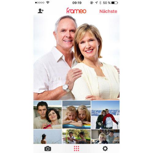 Somikon WLAN-Bilderrahmen mit 25,7-cm-IPS-Touchscreen /& weltweitem Bild-Upload