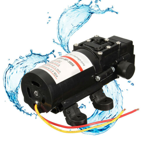 OPHIR RV //Marine 12V DC 60W Demand Fresh Water Diaphragm Self Priming Pump Low P