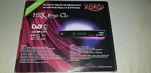 Kabel HD Receiver XORO HRK 8750 CI DVB-C - Beelitz, Deutschland - Kabel HD Receiver XORO HRK 8750 CI DVB-C - Beelitz, Deutschland