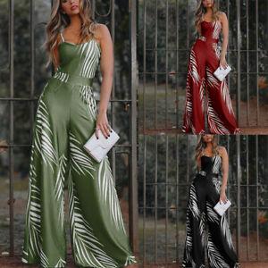 Women-Loose-Summer-Floral-Print-Jumpsuit-Blackless-Sling-Sleeveless-Long-Rompers