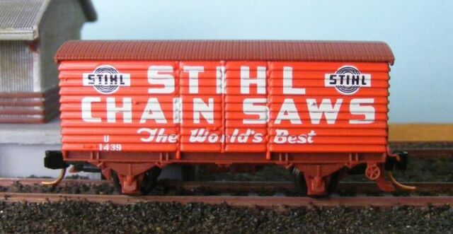 "Victorian Railways U Van ""Stihl"" with Micro-Trains couplers"