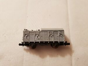 A Model Railway German Wagon In N Gauge By Roco Unboxed
