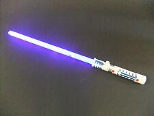 Blue Laser Lightsaber lights & sounds motion sensor battle clash sounds connect