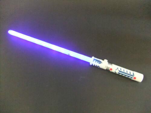Blue Laser Lightsaber lights /& sounds motion sensor battle clash sounds connect