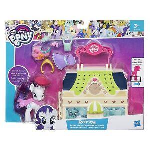 My-Little-Pony-L-039-amitie-Est-Magique-Rarity-Robe-Magasin-Set-De-Jeux