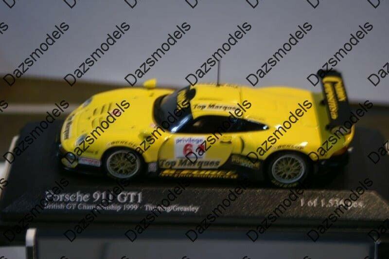 Minichamps PORSCHE 911 GT1 di British GTC 1996 thyrring 1:43 400996606
