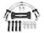 miniature 1 - Kit Montage étriers Freins Brembo Pour Clio 4 RS 200 - 220 Trophy RS18 etc
