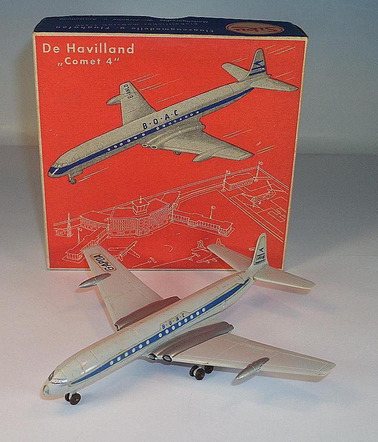 Siku plastique 1 250 avion f5a De Havilland Comet 4 BOAC neuf dans sa boîte comme NEUF  407