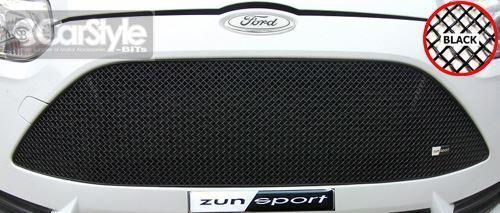 ZunSport Ford Focus ST MK3 2011/> Black Steel Mesh Upper Grille