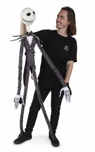 Jack Skellington Puppet by Folkmanis MPN 5014 Pumpkin King Can Be Animated