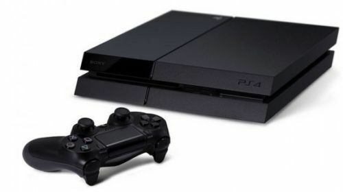 Black Playstation 4 PS4 500GB CONSOLE & CONTOLLER - PRE-OWNED
