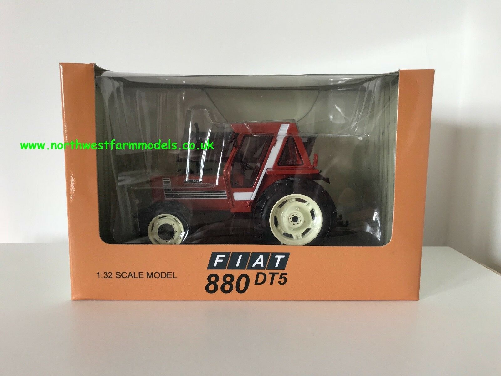 REPLICAGRI 1 32 SCALE FIAT 880 DT TERRACOTTA MODEL TRACTOR