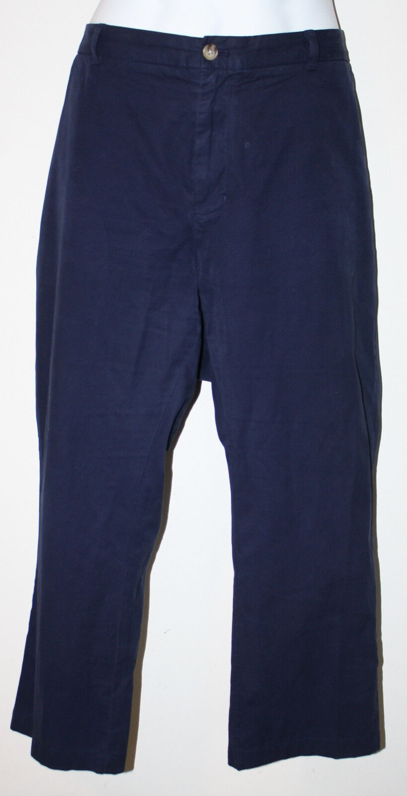 VINEYARD VINES Navy bluee Cotton Pants 42 x 26 Slim Fit Breaker