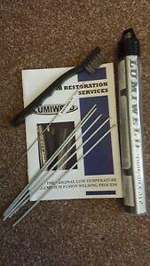 Lumiweld 10 Rod Kit - Low Temp Aluminium Repair