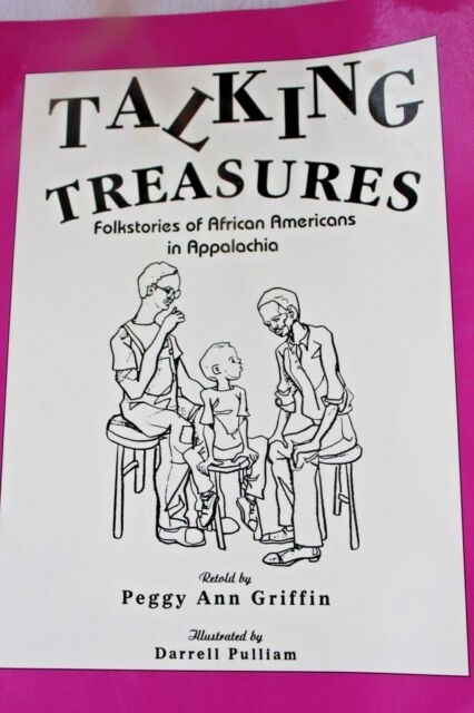 Talking Treasures by Peggy A. Griffin SIGNED Appalachia Folk Stories African OOP