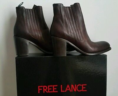 Free lance  boots Emea 7 Jodpur 39 marron neuves