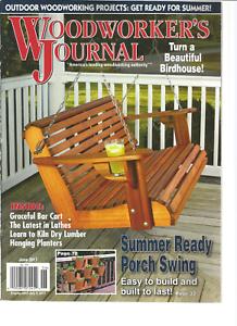 Wood Worker S Journal Outdoor Woodworking Projects June 2017 Ebay