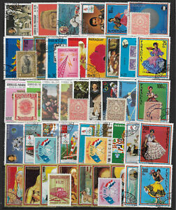 PARAGUAY-Collection-Packet-of-50-Different-STAMPS