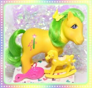 My-Little-Pony-MLP-G1-VTG-1984-UK-Euro-Exclusive-Magic-Star-Non-So-Soft-NSS