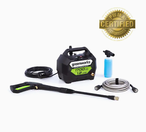 NEW-Greenworks-1700-PSI-1-2-GPM-Cold-Water-Electric-Pressure-Washer-GPW1704-PWMA