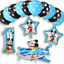 New-Disney-Mickey-Mouse-Birthday-Foil-Latex-Balloons-Plane-Party-Decorations-Boy thumbnail 2