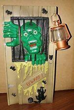 Vintage Talking Creature Horror Box,Monster Toy State,Halloween door bell