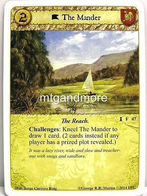A Game of Thrones LCG - 1x The Mander  #047 - Fire Made Flesh