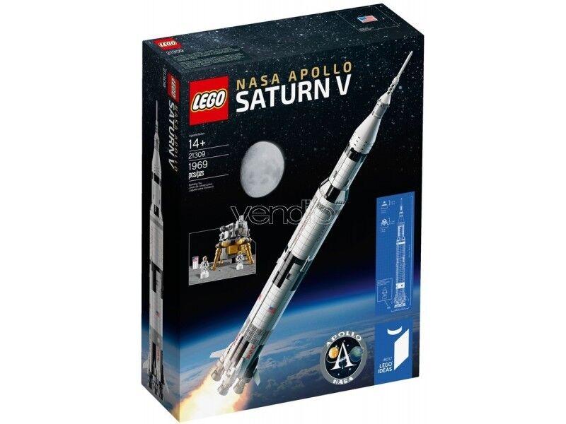 LEGO IDEAS 21309 - NASA APOLLO 11 SATURNO V