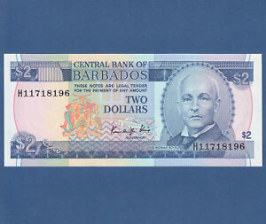 Barbados 2 Dollars 1986 Unc P 36 To Clear Out Annoyance And Quench Thirst