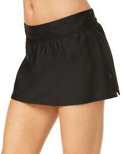 dc41be5b23c6f Reebok Womens Solid Swim Skirt 8 Black 842871037248   eBay