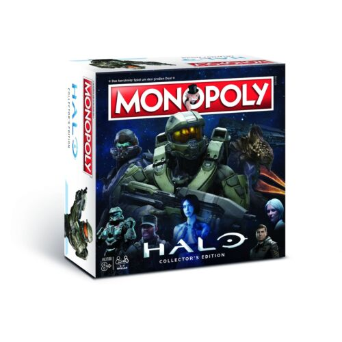 Monopoly Halo Collector/'s Edtion Spiel Brettspiel Gesellschaftsspiel NEU