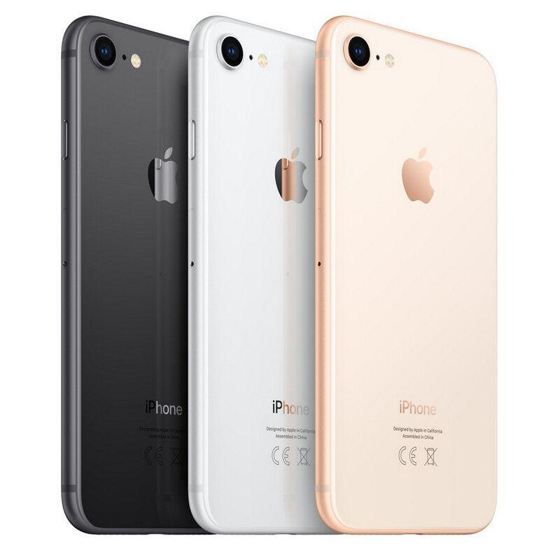 iPhone: Apple Iphone 8 64 GB libre + garantia + factura + 8 accesorios de regalo + libre