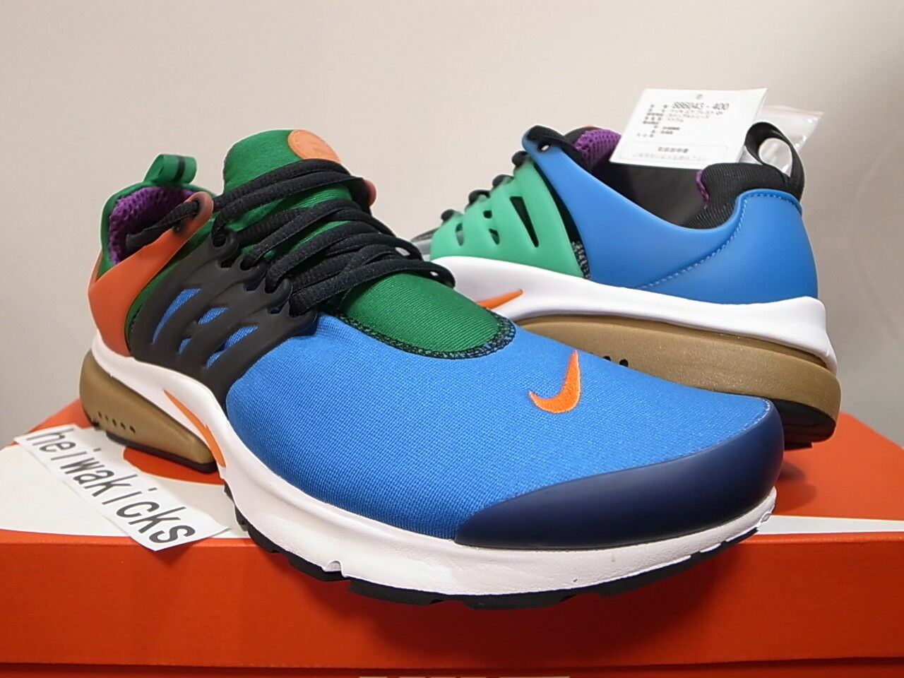 2016 NIKE AIR PRESTO QS GREEDY BEAMS WHAT THE MULTI-COLOR 886043-400 size 10 Casual wild