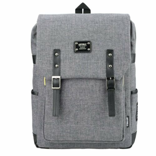 LEFTFIELD Mens Backpack 15 Laptop Luggage Casual Bag College Rucksack 088