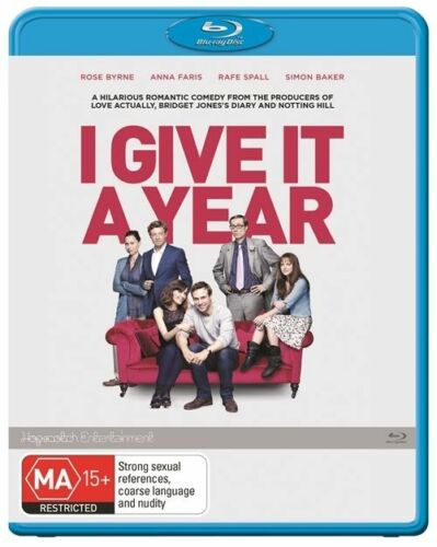 1 of 1 - I Give it a Year Blu-ray Region B - New & Sealed!