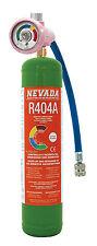 DIY-Kit 790g Kältemittel R404A 1lt. 1kg - Eigentums - Zylinder inkl. Manometer