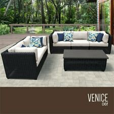 Prime Jj International Hampton Wicker Patio Sofa With Ottoman For Ncnpc Chair Design For Home Ncnpcorg