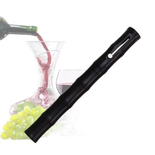 Wine Bottle Opener Non-slip Stainless Steel  Black Air Pressure Tool Plastic