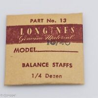 Longines Genuine Material Balance Staff Part 13 723 For Longines Model 10/40