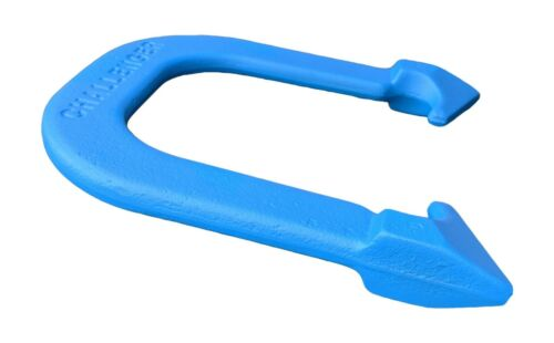 rouge//bleu Challenger hautement durable Pro Pitching fers à cheval made in USA 2 paire
