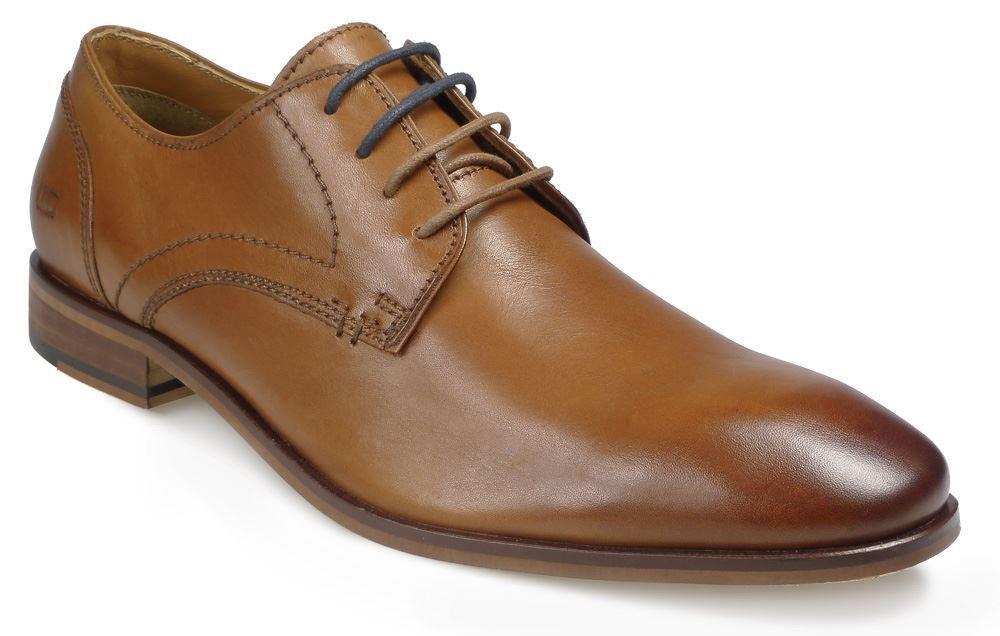 Paul O'Donnell Herren Geschnürte Formelle Schuhe - Boston 2 hellbraun