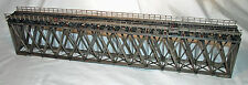 170' HOWE TRUSS DECK BRIDGE O Scale Standard Gauge Railroad Structure Kit HL110O