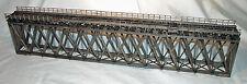 170' HOWE TRUSS DECK BRIDGE O Scale Standard Gauge Railroad Structure Kit HL110O