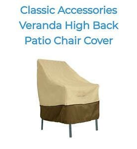 Classic Accessories Veranda High Back Patio Chair Cover Free